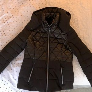 Andrew Marc black winter jacket